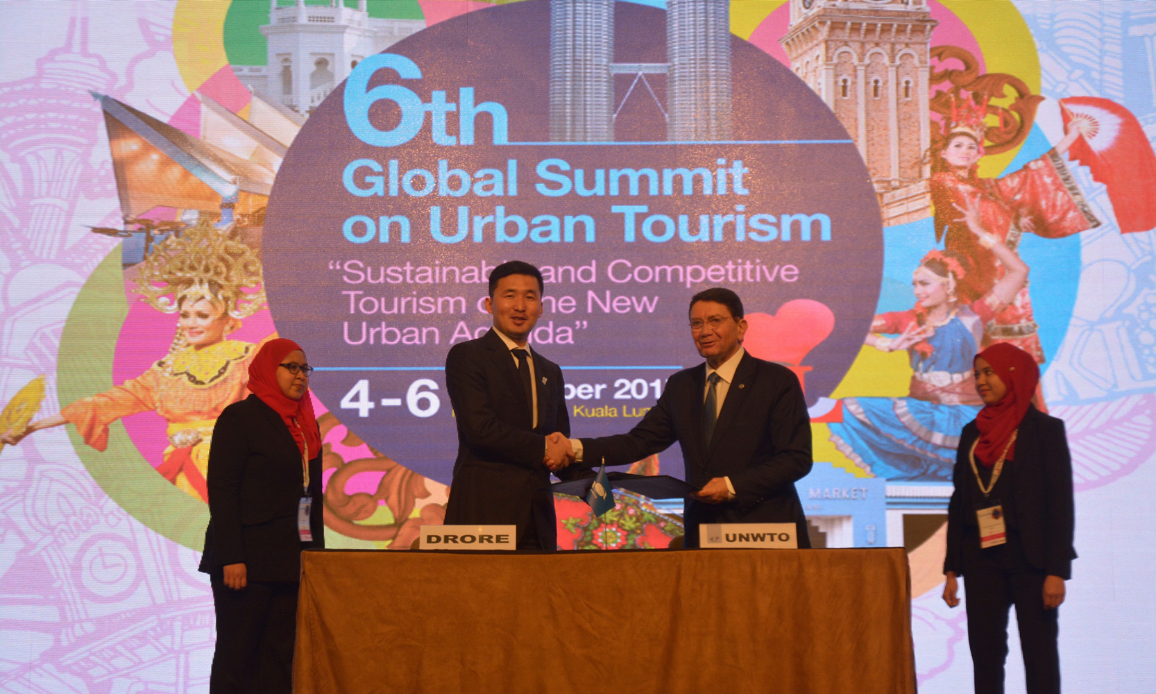 浙大科技园毕业企业卓锐科技与联合国世界旅游组织签署战略合作协议: 科技共推旅游可持续发展